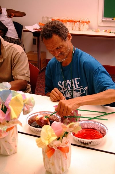 Isiah House participants enjoy their art therapy classes
