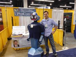 ProCon.org researcher Jeremy Ziskind posing