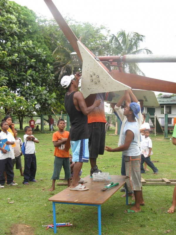 Kakabila Community Installing a project.