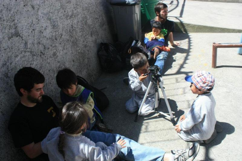 College Students Spending Recess at Remanso de Amor