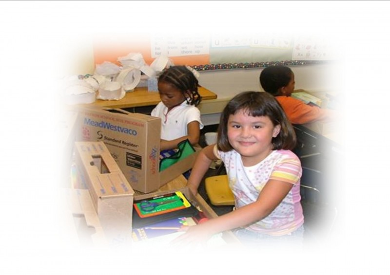The Foundation's School Box program partners with local communities not served by Resouce Centers.