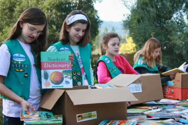 Many of our book drives are done by kids who develop leadership skills as they become global activists.