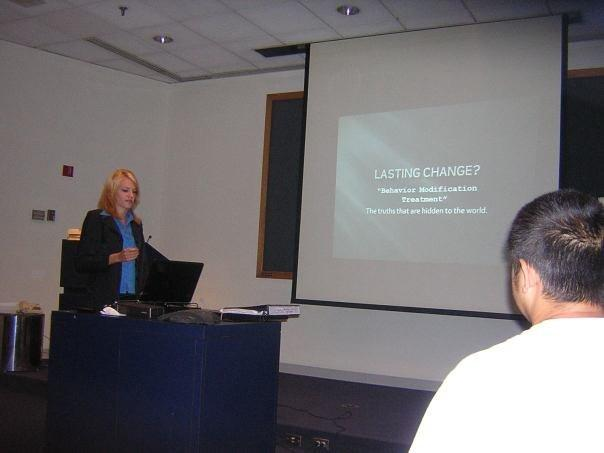 Kristen presents at National Youth Rights Association Conference 2007