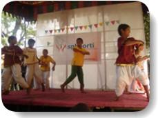 Dance performances by children