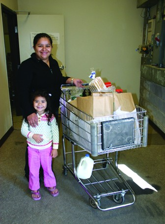 Families in need have access to nutritious food.