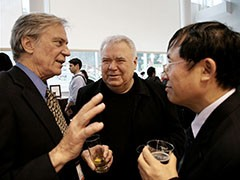 Richard Register, Jaime Lerner and Wang Rusong
