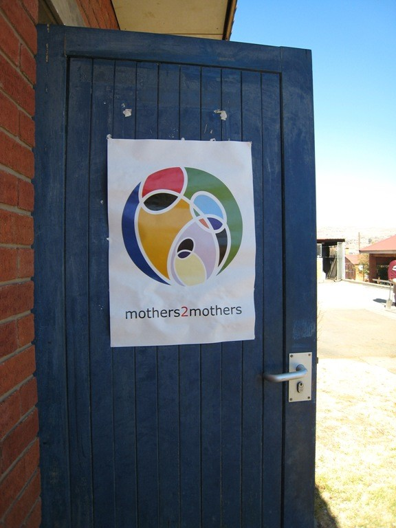 mother2mothers site in Lesotho