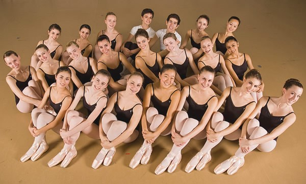 Maple Youth Ballet company members