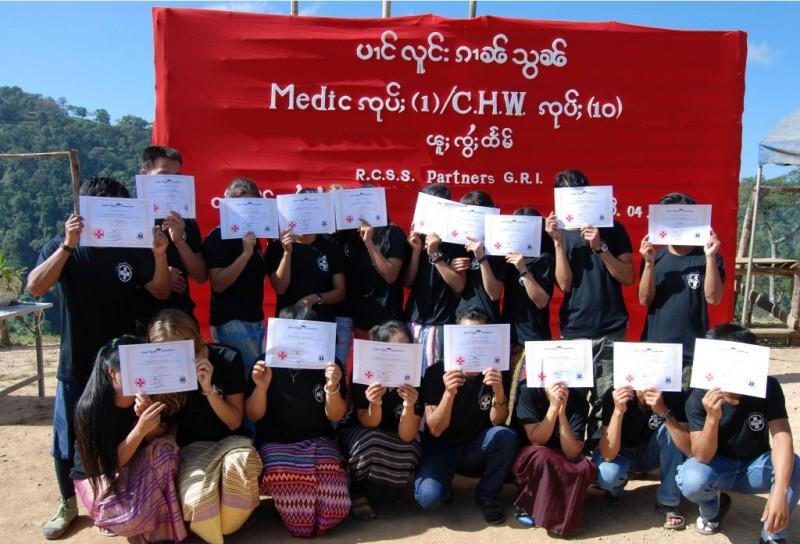 2010 Medic Graduation (Burma)
