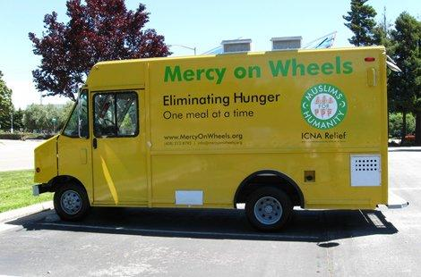 Mercy on Wheel to serve warm food to the needy