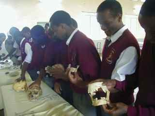 Kenya Prehistory School Outreach program, in Meru