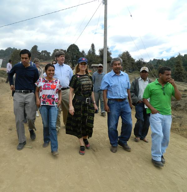 2012 RFK delegation visits Mexican villages in Guerrero State with Tlachinollan legal services staff