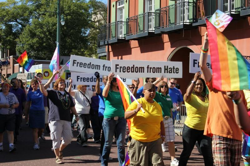 The MGLCC group at Mid-South Pride 2011