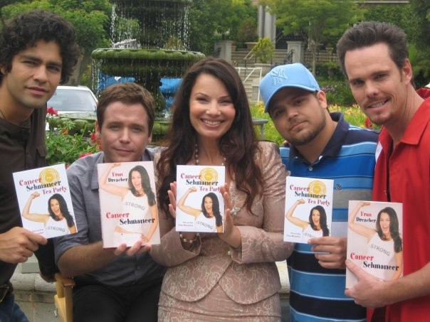 Fran Drescher and the cast of Entourage