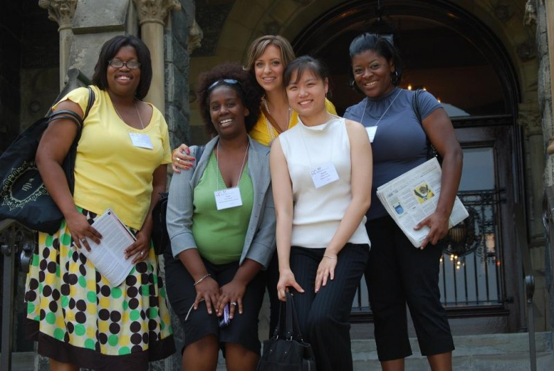 Attendees of the National Conference for College Women Student Leaders (NCCWSL)