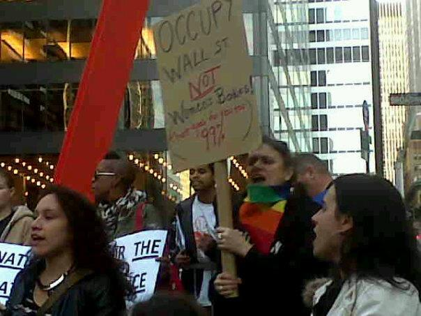 Engaging in Social Justice Strategies. March @ Occupy Wall Street