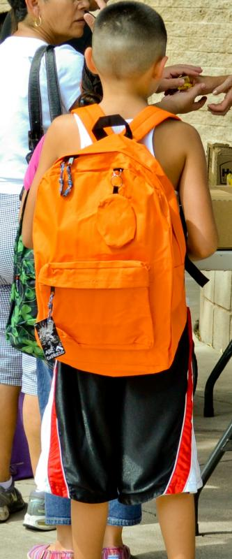 Backpack-2-school provides not just backpacks and school supplies, but encourages struggling families as to the importance of education for future success