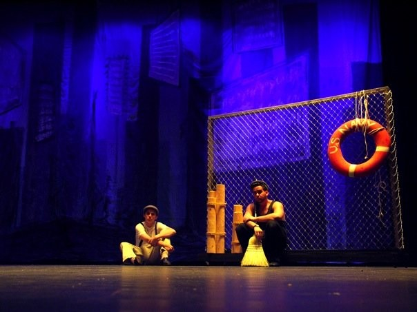 A photo from EXIT 82's production of