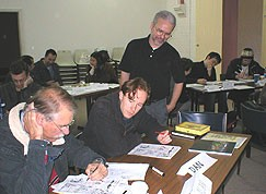 Nate Butler teaching in Australia, 2006