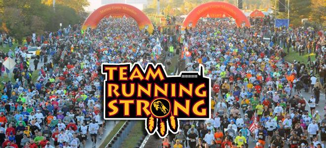 Join Running Strong's Team Running Strong and run for the future of American Indian youth.