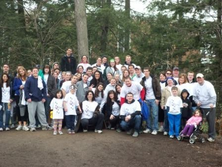 Phi Gamma Nu Spring Walk to End Brain tumors!