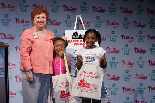 Phillies Super Reader Party