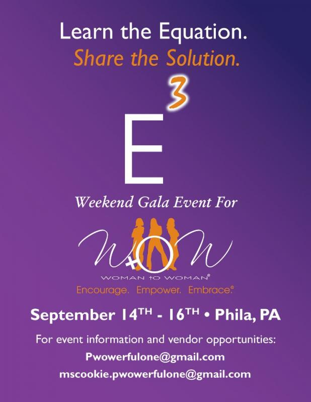 The Power of 3 Gala Flyer