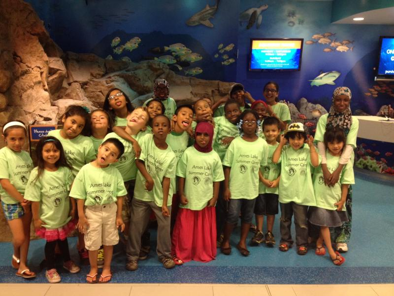 Ames Lake Summer Camp's Field Trip to Sea Life.