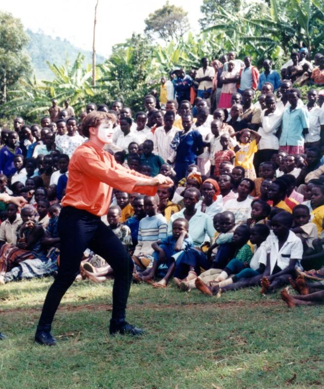 Public presentation in Uganda