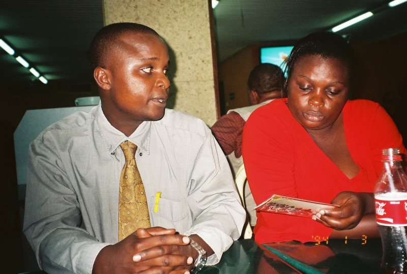 Maurice and Maureen, kenyan representaves