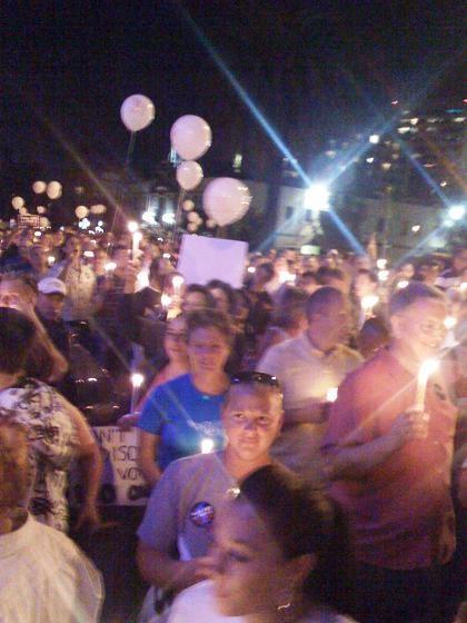 Prop. 8 Candlelight Vigil