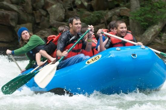 Rafting on the Nantahala!