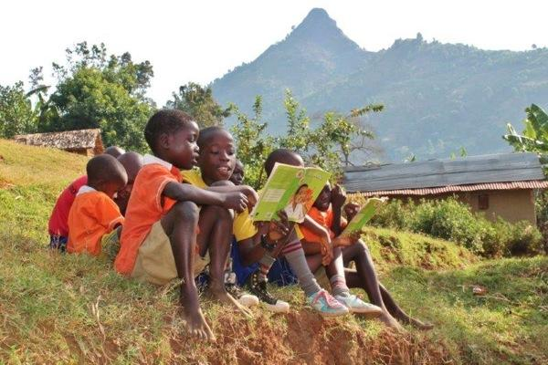 Reading to younger children on International Read Aloud Day