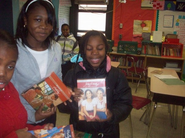 Students recieve the resources they need to make reading fun!