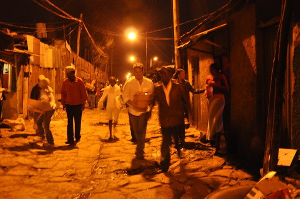 Red light district - Addis Ababa, Ethiopia