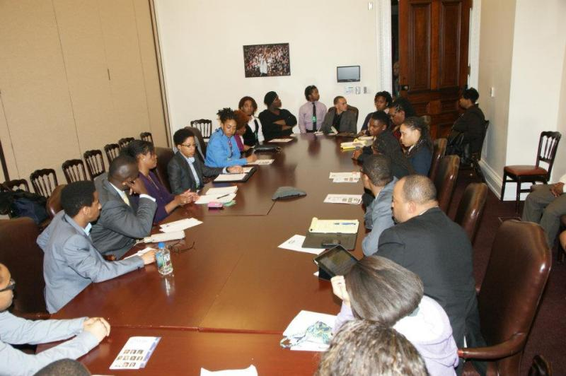 Round table discussion at the 2012 Policy Briefing for Black LBGT Emerging Leaders