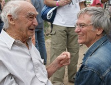 Paolo Soleri (left) and Richard Register (right)