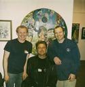 Ryan, Ben and Anton at Aurora Public Art Commission
