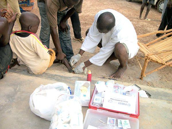 First aid health program to prevent and treat illnesses