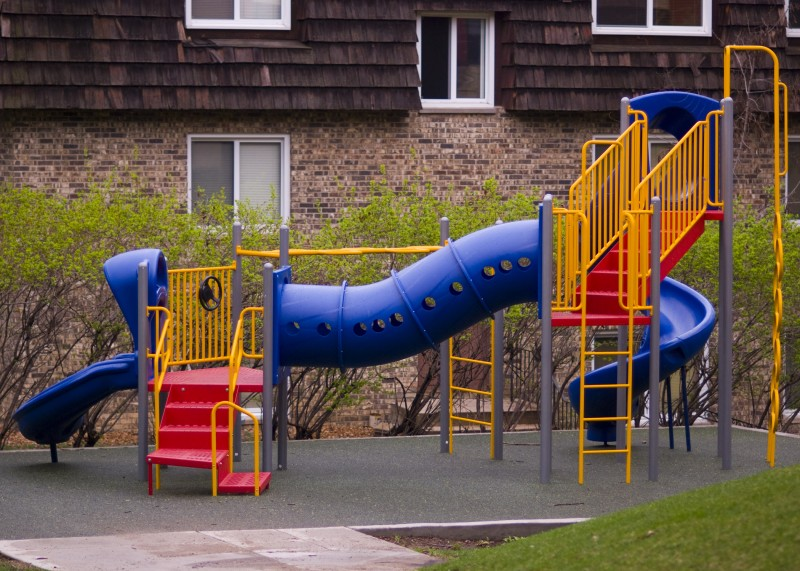 Playground at Wayside Supportive Housing
