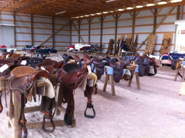 Every two years the first weekend in May is our Tack and Treasure Sale. Always looking for used tack and much more to make this event a success.