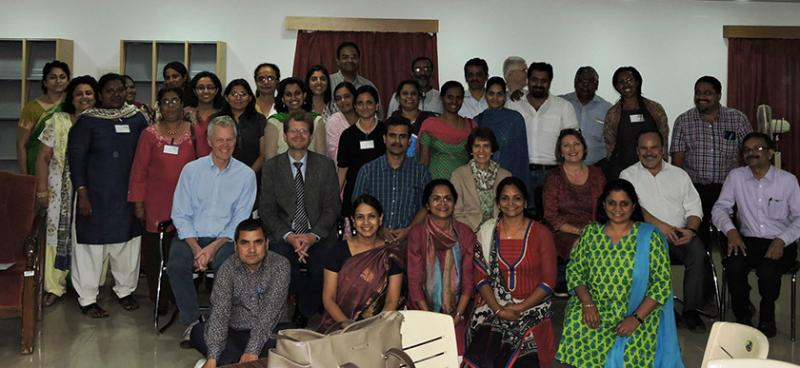 Palliative care leadership workshop in Hyderabad, India