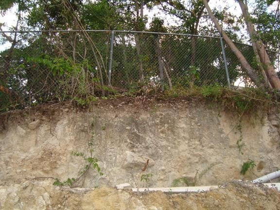 Thin topsoil in Haiti leads to erosion