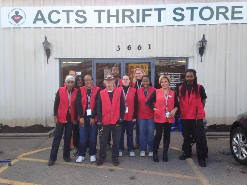 ACTS Thrift Store employees