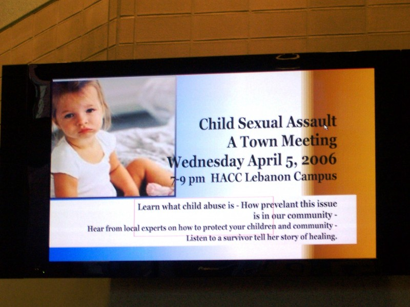 Town Hall Meeting to discuss Child Abuse