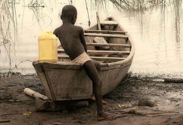 Child trafficking is a huge problem in Ghana. OH