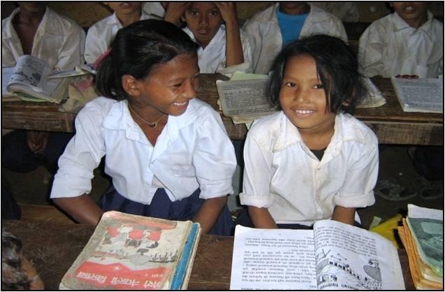 These girls are getting an education thanks to Nepal Youth Foundations scholarship program