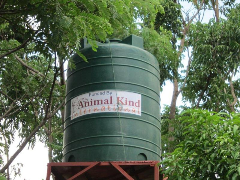 Water tank & tower at Lilongwe SPCA-built with AKI $$