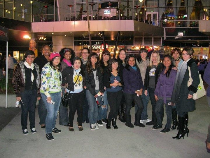 WE & GTWT at the Laker game!