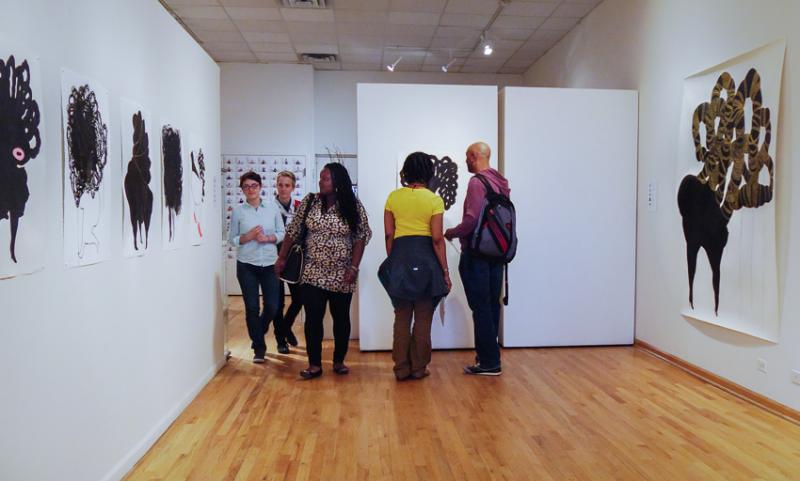 Solo Show by Shoshanna Weinberger
